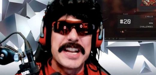 Dr. Disrespect Banned On Twitch, Reportedly For Good