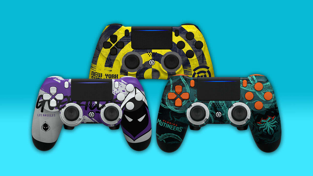 Scuf's New PS4 Controllers Feature Slick Call Of Duty League Designs   Aionsigs.com