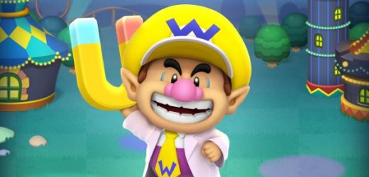 Baby Wario is back, and he's a doctor now