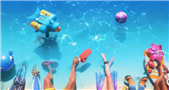 Riot teases new Pool Party League skins by showing only champions' legs