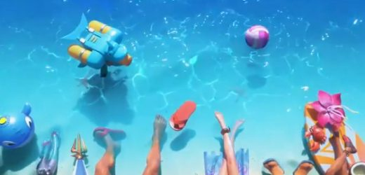 Pool Party skins teased for League of Legends this summer