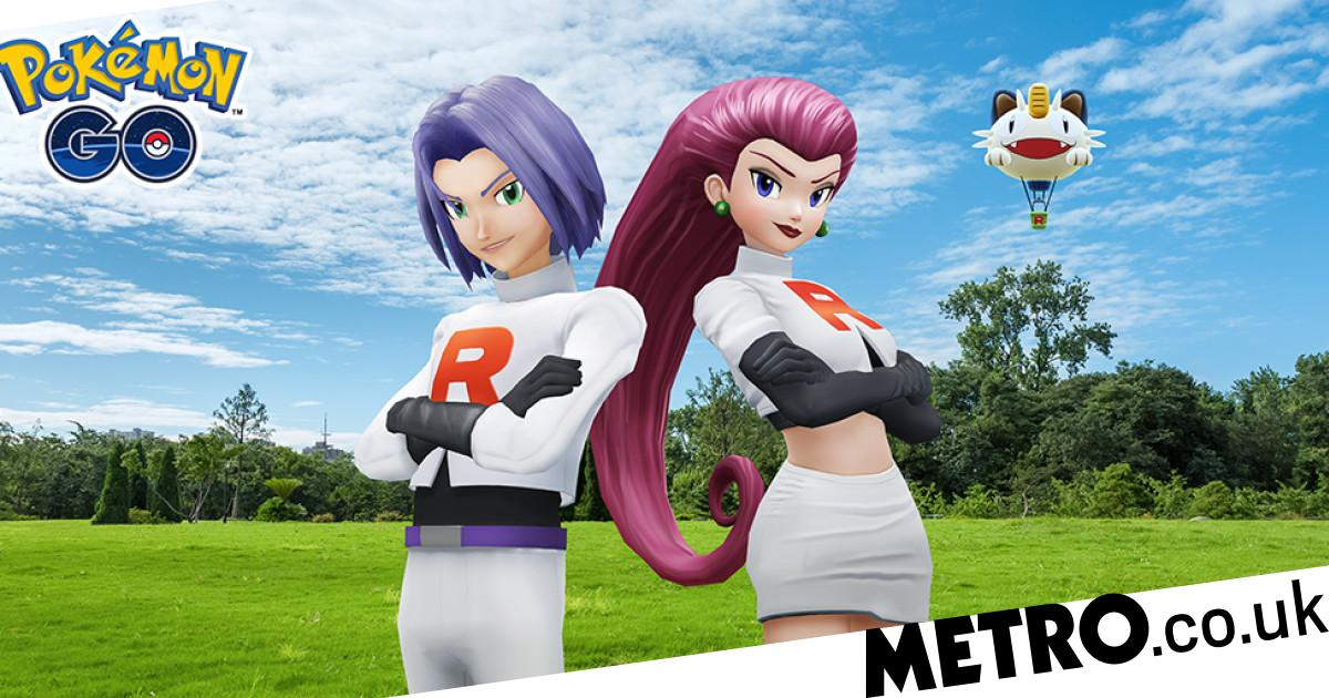 Battle Jessie and James from Team Rocket now in Pokémon Go
