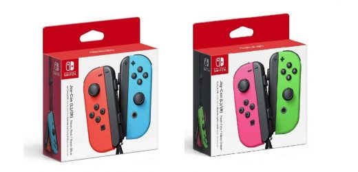 Nintendo Switch Joy-Cons Still In Stock At Amazon, GameStop, And Target