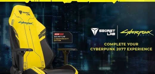 Limited Edition Cyberpunk 2077 Gaming Chairs Are Bright And Comfortable