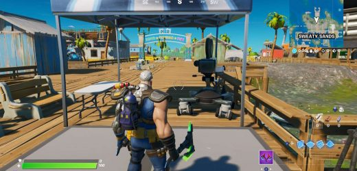 Fortnite: How To Dance In Front Of A Camera At Sweaty Sands
