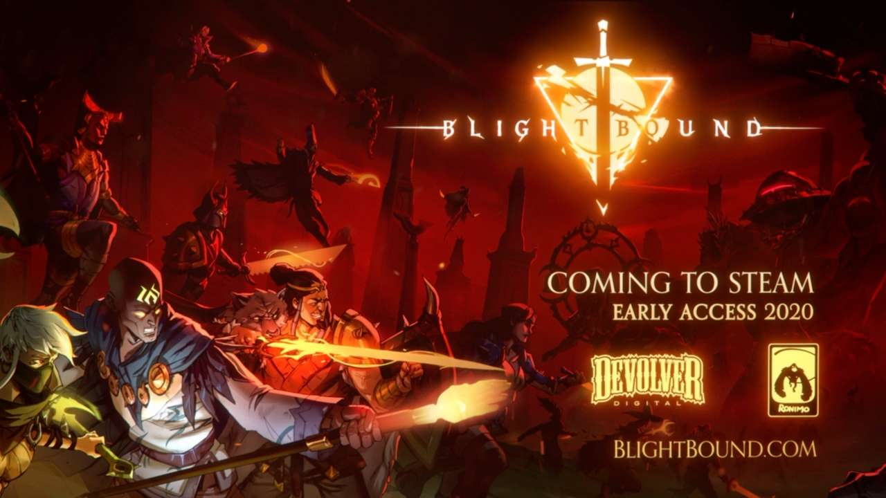 Blightbound, Devolver's Dark Dungeon Crawler, Is Coming To Steam Early Access This Month