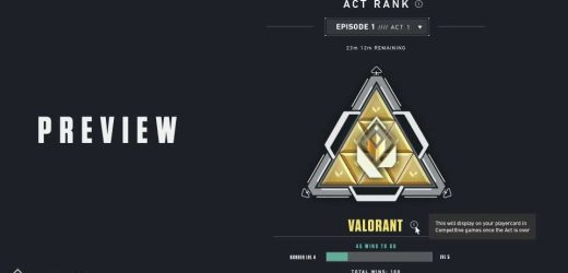 Riot to introduce VALORANT Act Rank to track your ranked wins