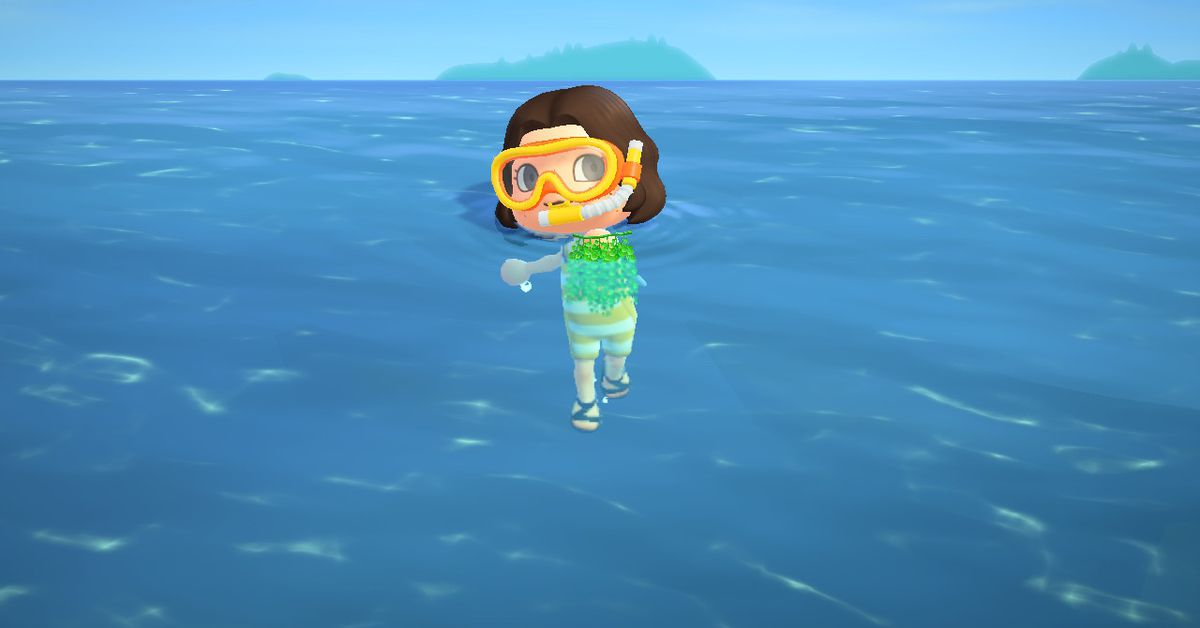 Oh no, Animal Crossing's sea grapes are the new sea bass