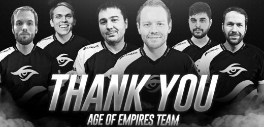 Team Secret part ways with their Age of Empires roster of TheViper, Daut, TaToh and co.