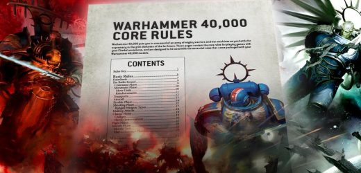 Warhammer 40,000 9th edition core rules are out now and free to download