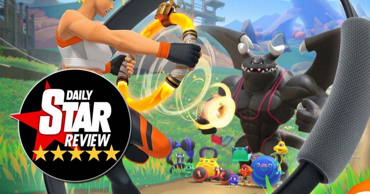 Ring Fit Adventure Review: The Wii Fit successor transforms fitness into an RPG