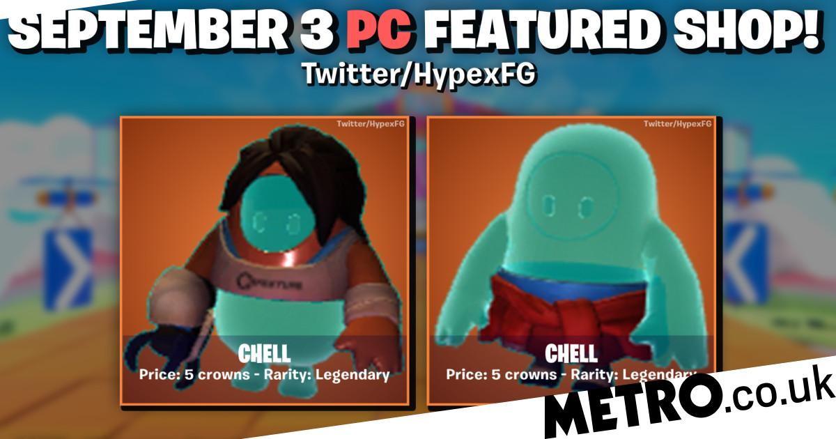 New Fall Guys skins leak, including Portal and My Friend Pedro