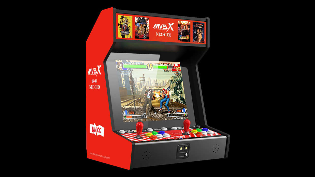 The New SNK Neo Geo MVSX Arcade Console Is Loaded With Fighting Game Classics