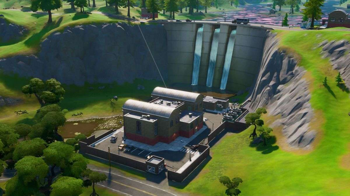 Fortnite: How To Collect Metal At Hydro 16