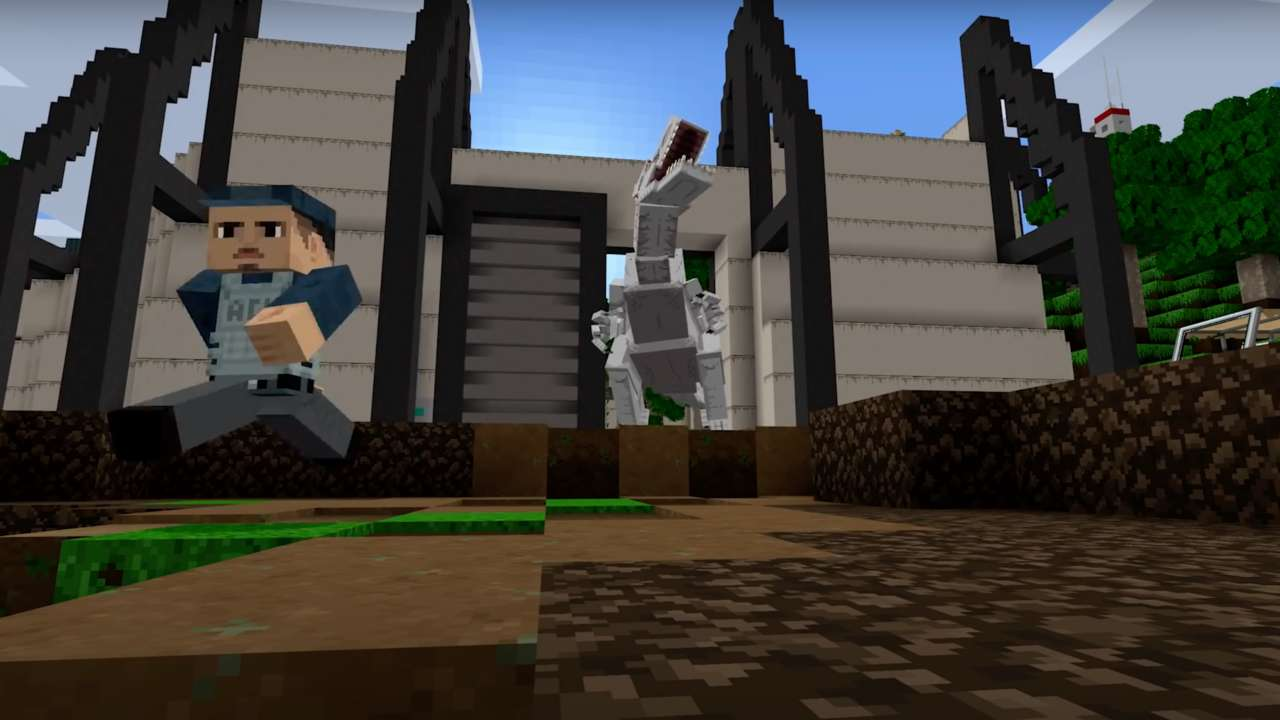 New Minecraft DLC Adds Dinosaurs From Jurassic World