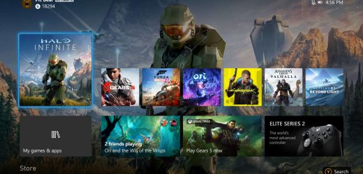 New Xbox One Update Lets You Preview Series X's UI