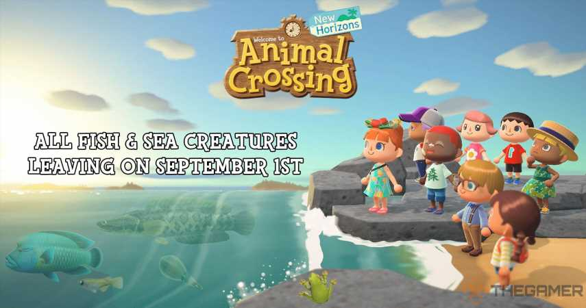 Animal Crossing: New Horizons – All Fish Leaving At The Beginning Of September