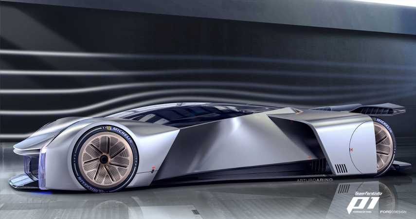 Ford Unveils Project P1: A Car, But For Gamers
