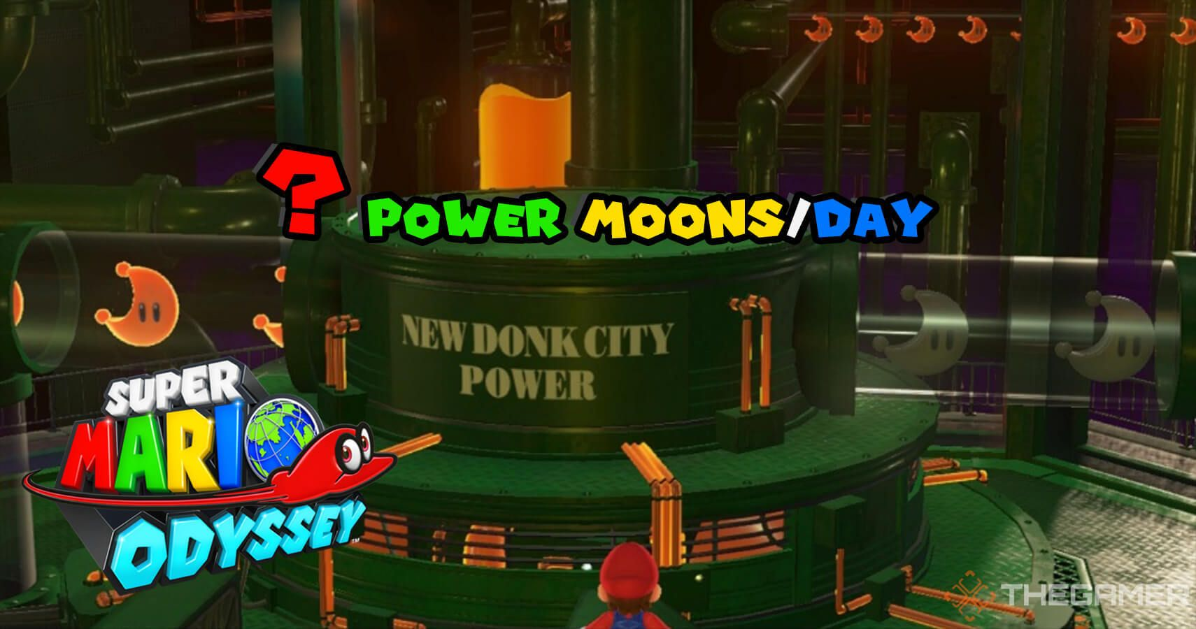 Gaming Detail: Here's How Many Power Moons Light Up New Donk City In Super Mario Odyssey