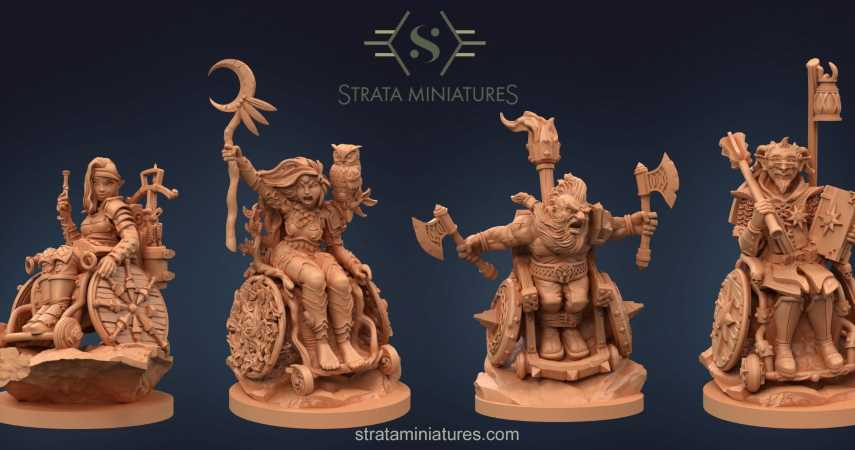 Combat Wheelchair Minis Are Now Available For Pre-Order