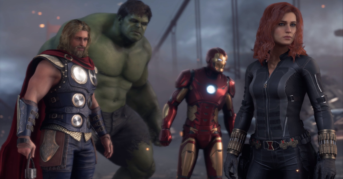 Square Enix details vendors, cosmetics, and the battle pass system in Marvel's Avengers