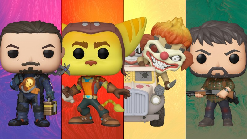Funko Unveils Second Wave of PlayStation All-Stars