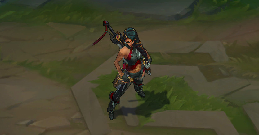 League of Legends' newest champion, Samira, revealed