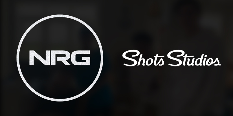 NRG Esports Partners With Shots Studios for Content Creation and Merchandising