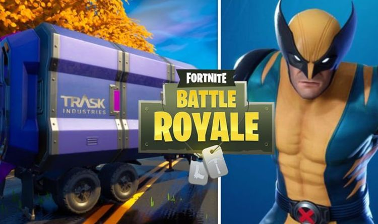 Fortnite Trask Transport Truck map location revealed for Week 5 Wolverine challenge