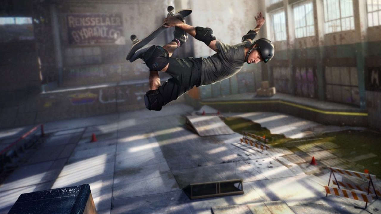Tony Hawk Gets Surprised With Real-Life S-K-A-T-E Challenge