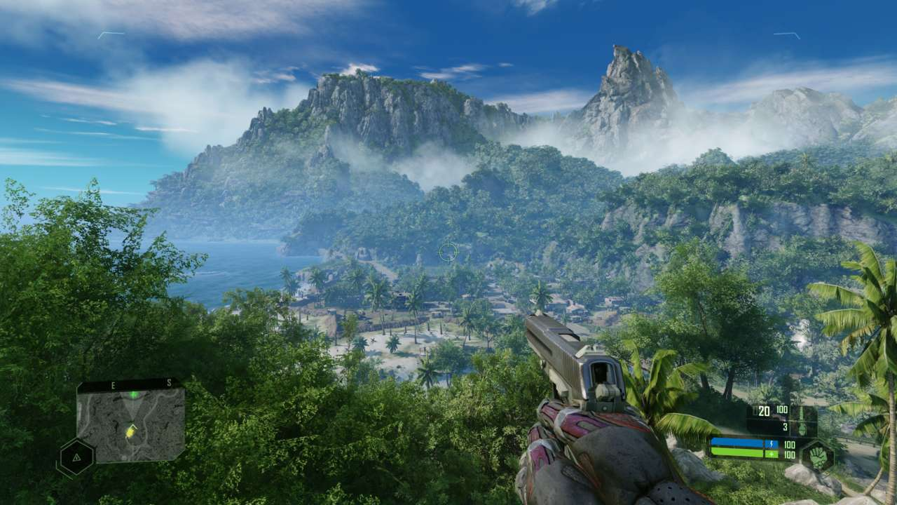 Crysis Remastered Shows Off Highest Graphical Settings For The First Time