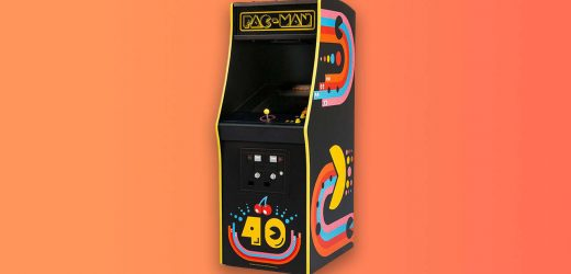 This Pac-Man 40th Anniversary Mini Arcade Cabinet Is An Impressive Feat
