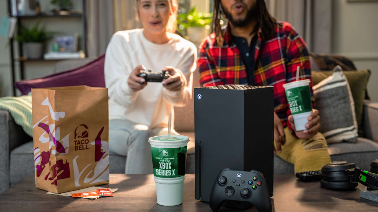 Xbox Series X Giveaway From Taco Bell Is Live