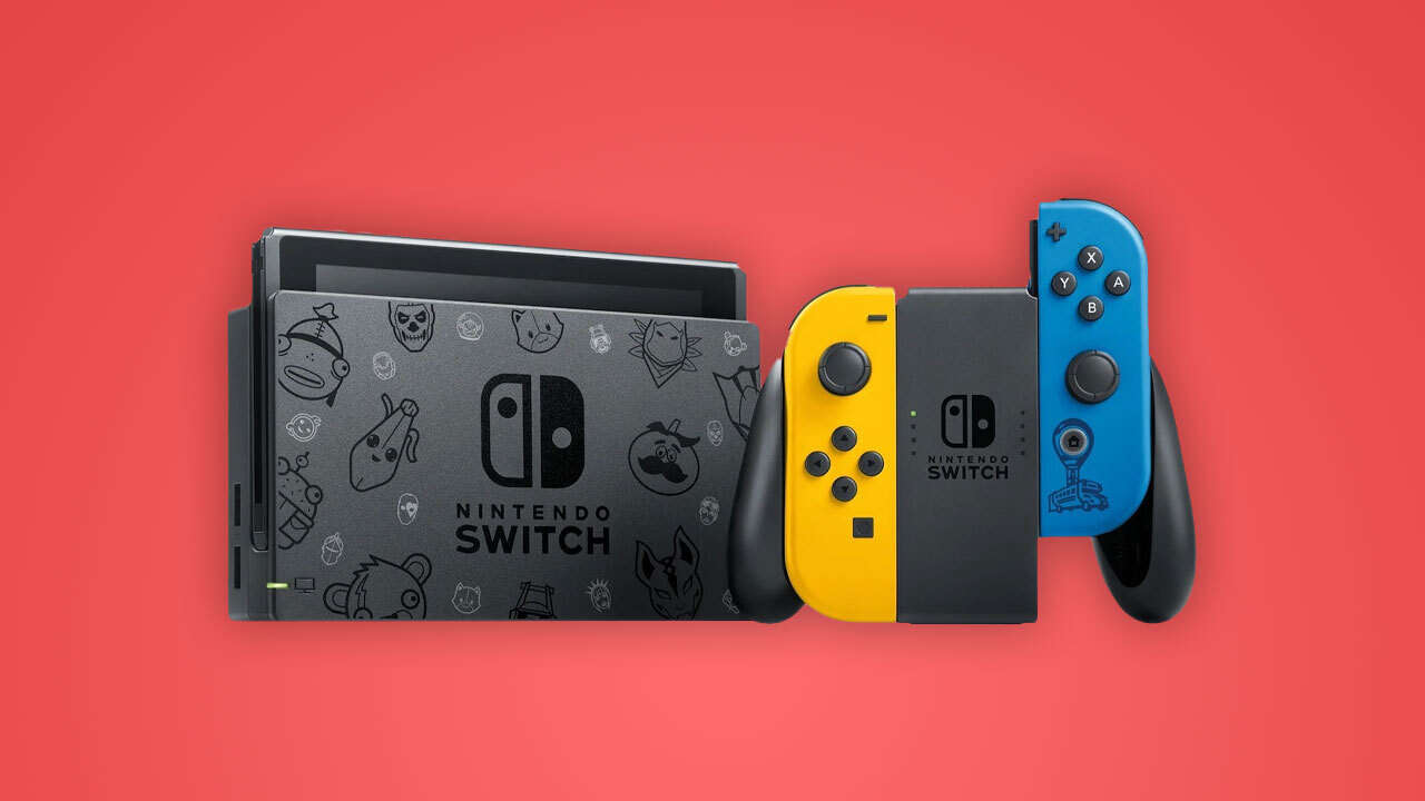 Limited-Edition Fortnite Nintendo Switch Console Releases In October