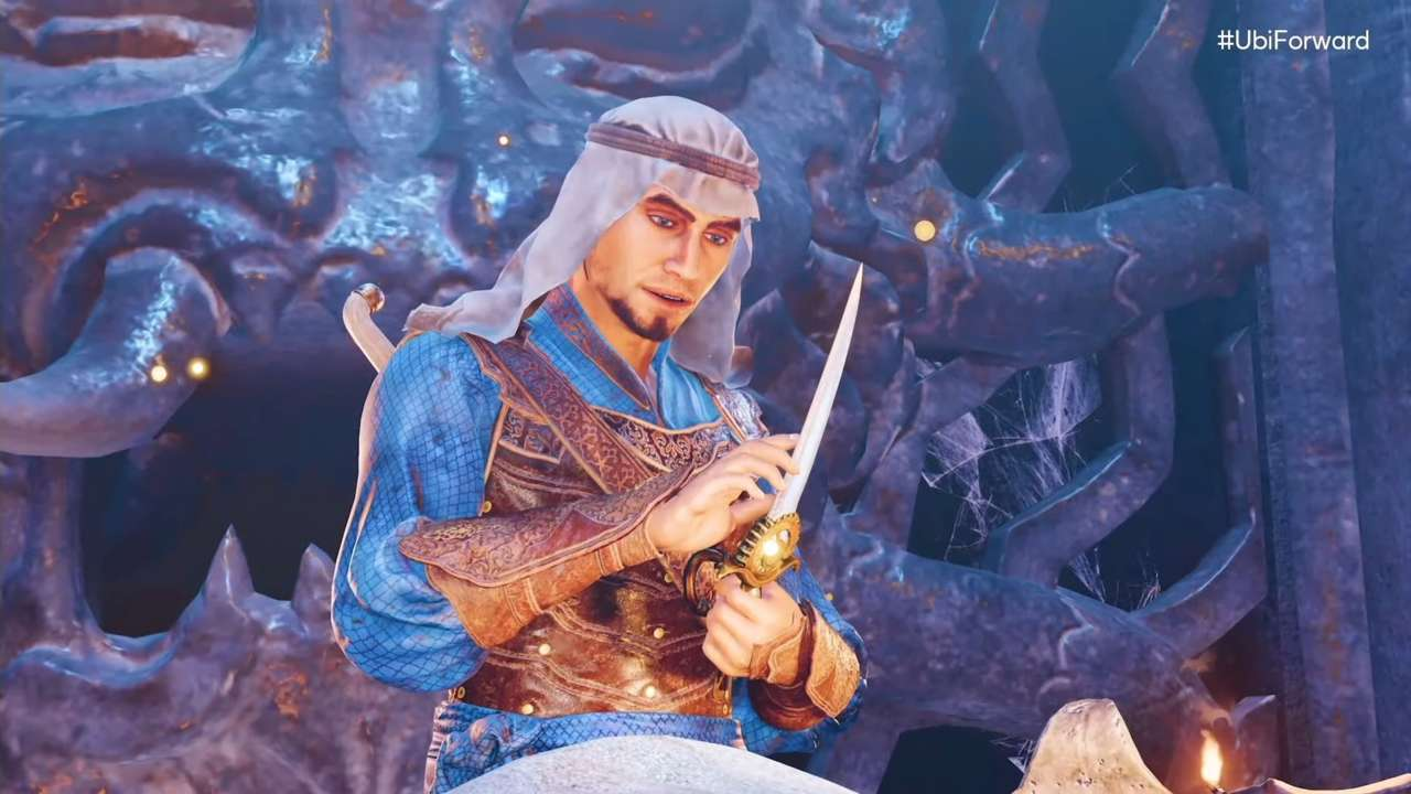 Prince Of Persia: The Sands Of Time Remake Revealed During Ubisoft Forward