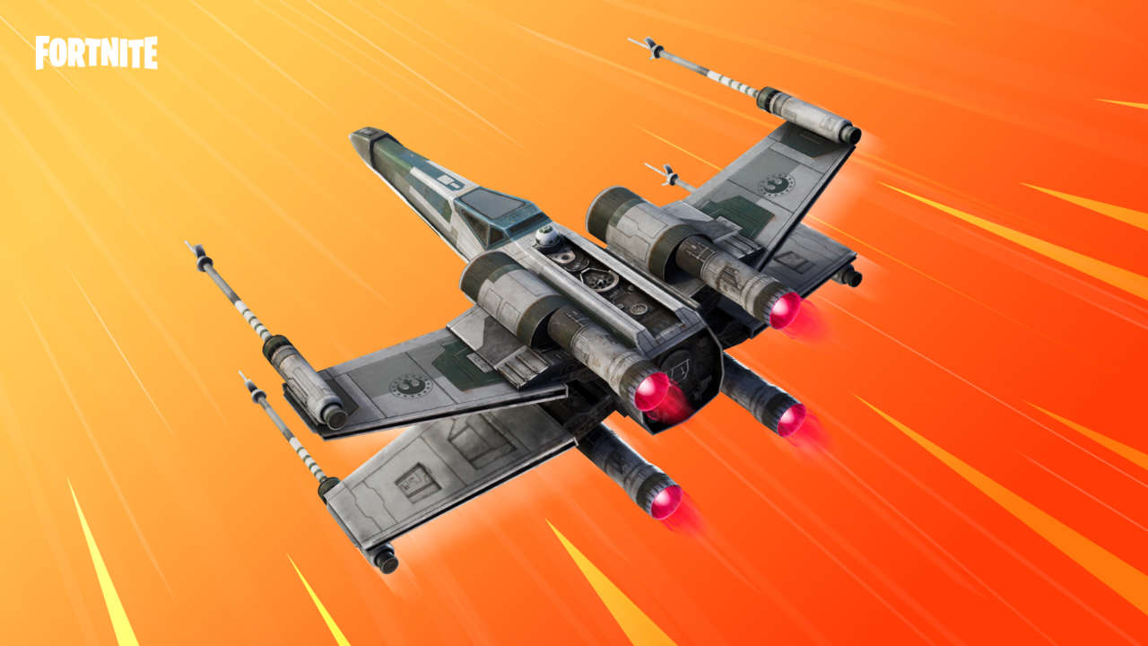 Fortnite Players Can Fly With The Star Wars X-Wing Now