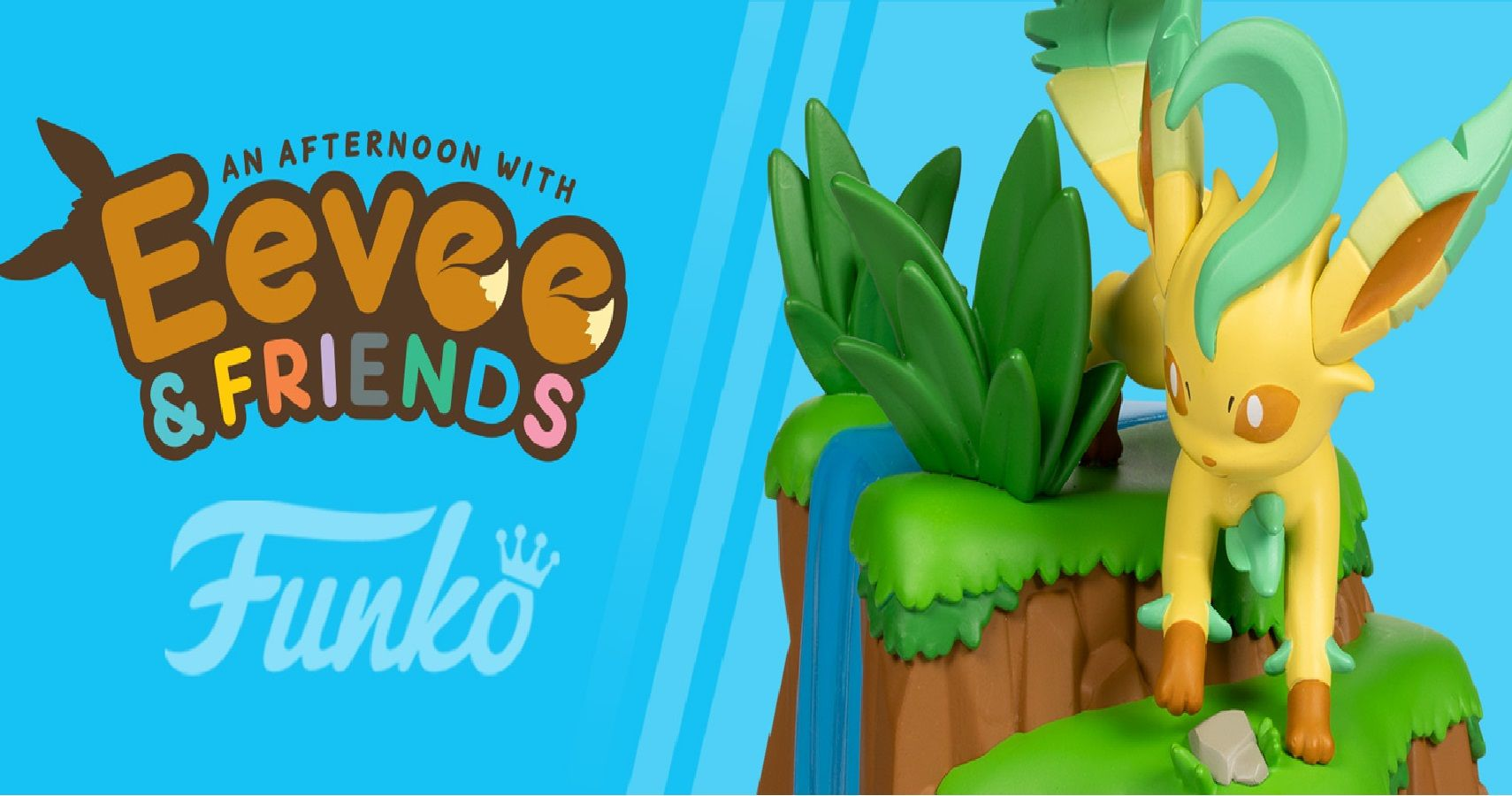 """Funko's Next """"An Afternoon With Eevee & Friends"""" Figure Is Leafeon, Debuts September 16"""