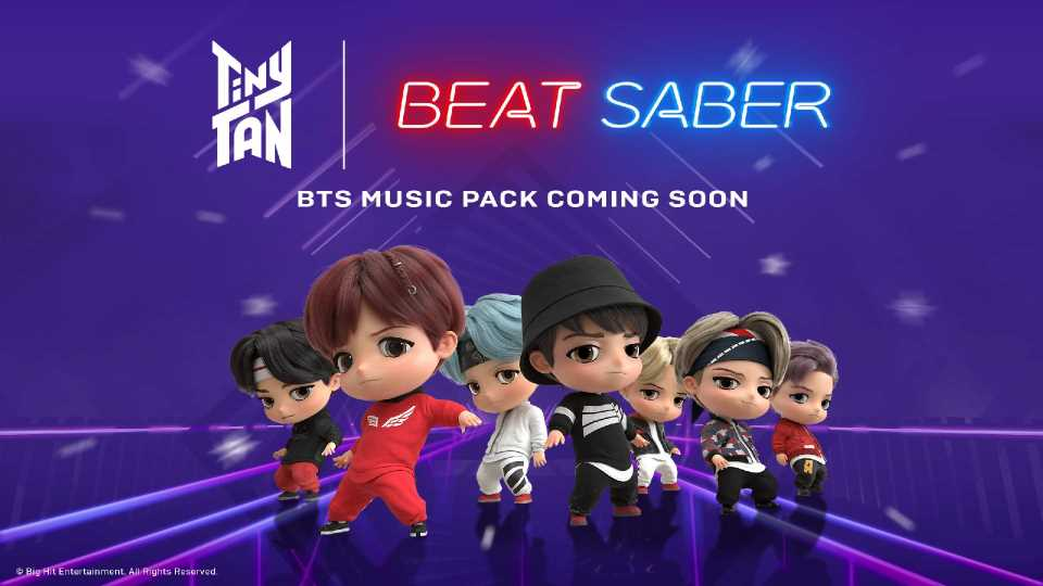 Beat Saber Multiplayer Mode Coming Next Month, BTS Music Pack in November