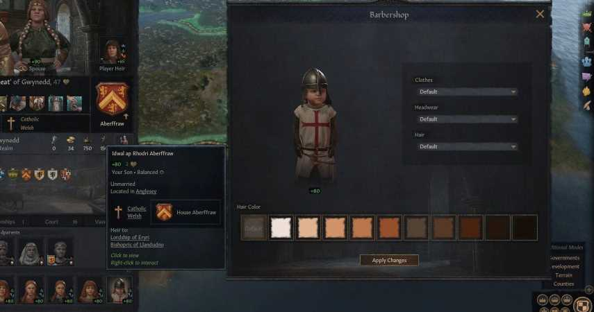 Gaming Detail: Crusader Kings 3 Lets You Dress Up Toddlers As Crusaders
