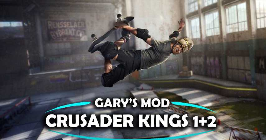 Perform Sick Medieval Ollies Thanks To This Crusader Kings 3 + Tony Hawk's Pro Skater Mashup Mod