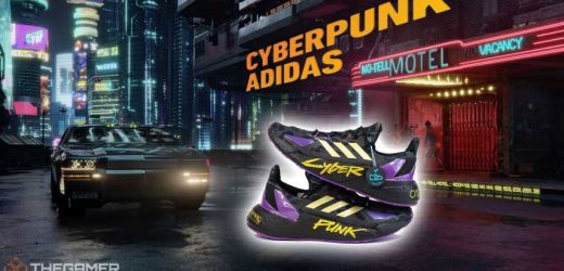 Nothing Says Cyberpunk Like These Official Adidas Branded Sneakers