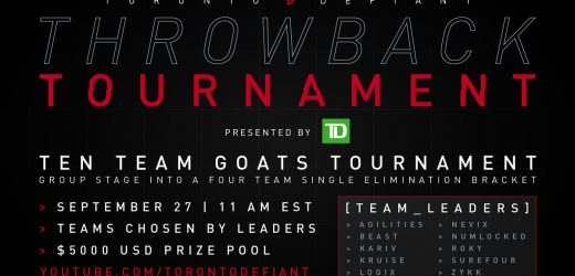 Toronto Defiant GOATs Tournament brings back the past – Daily Esports