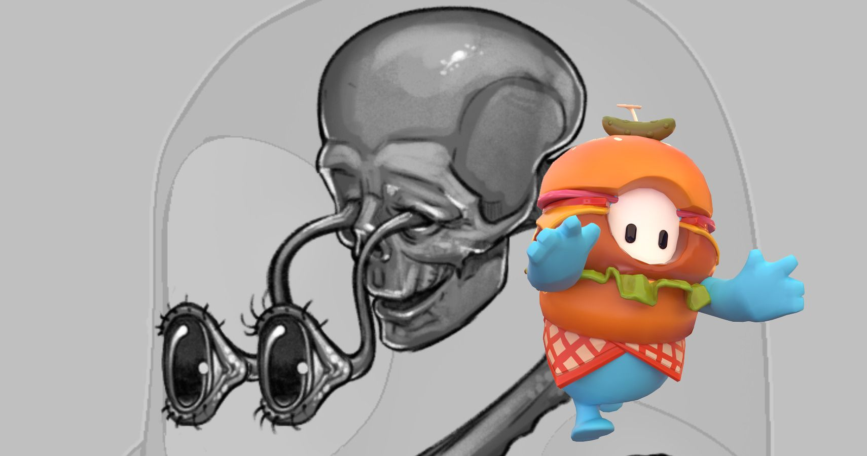 Fall Guys' Terrifying Anatomy Detailed In Official Concept Art