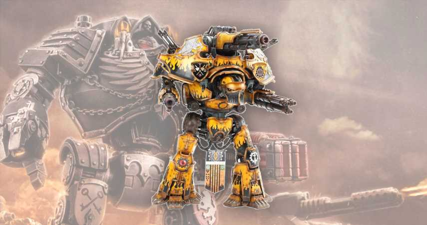 Forge World Goes Big With Gigantic Warbringer Nemesis Titan Entering The Fray