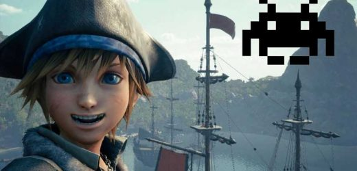 There's A Strange Space Invaders Reference In Kingdom Hearts 3