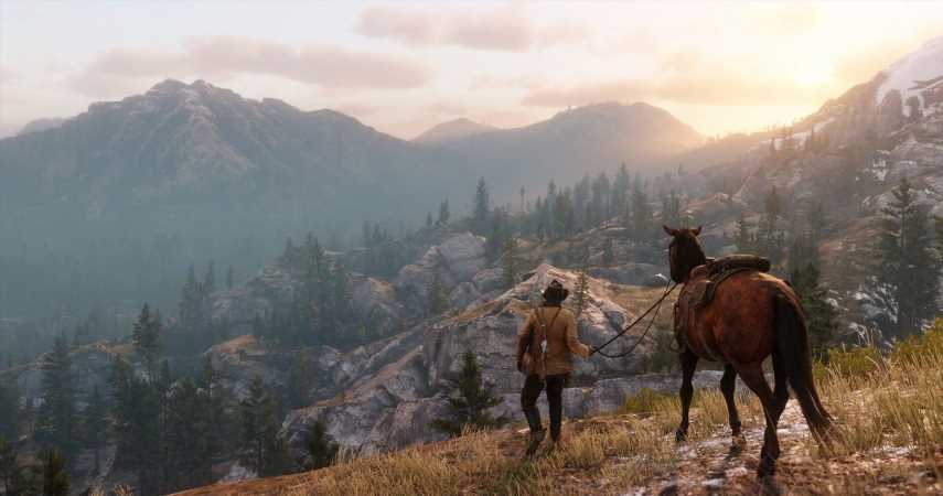Nature Is Healing As Red Dead Online's Lobbies Empty Of Humans