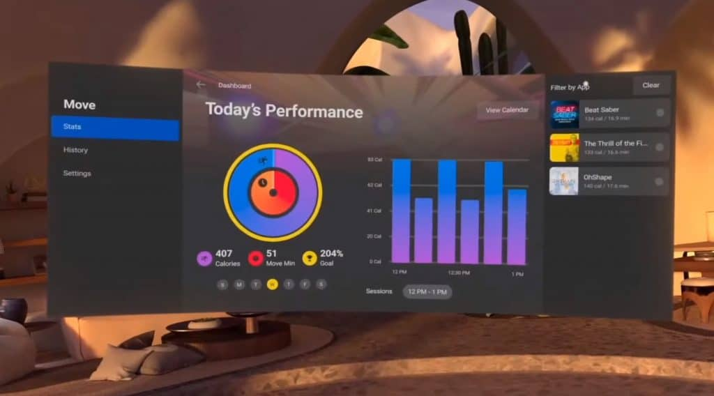 Oculus Move Is A Cross-App Fitness Tracker For Quest 2