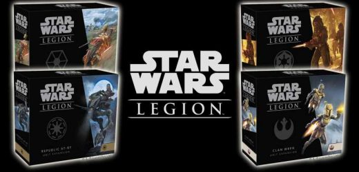 New Star Wars Legions Unit Expansions Now Available