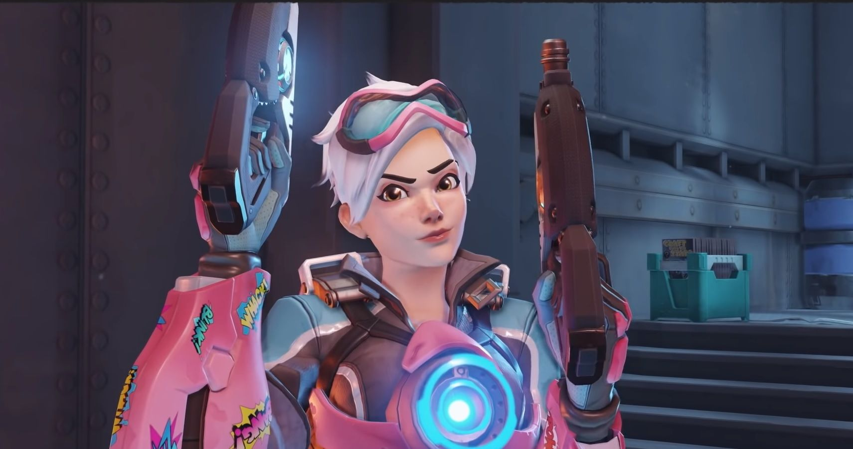 Tracer Gets A Comic Book Look In New Overwatch Event