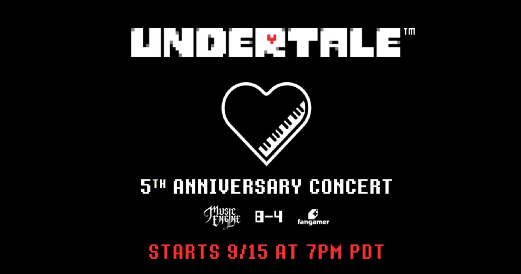 Celebrate Undertale's 5th Anniversary With Free Concert Next Week